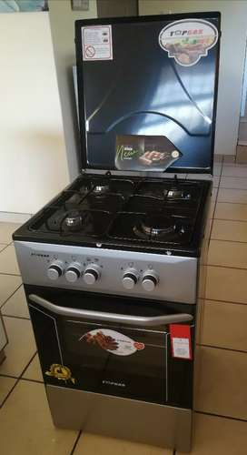 4 Burner Gas Stove and Gas Oven plus Grill