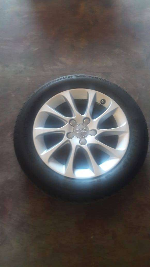 Audi A3 original rims with tyres for sale 0