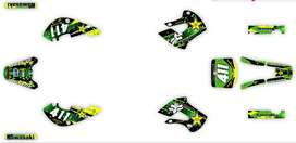custom kx65 sticker kits