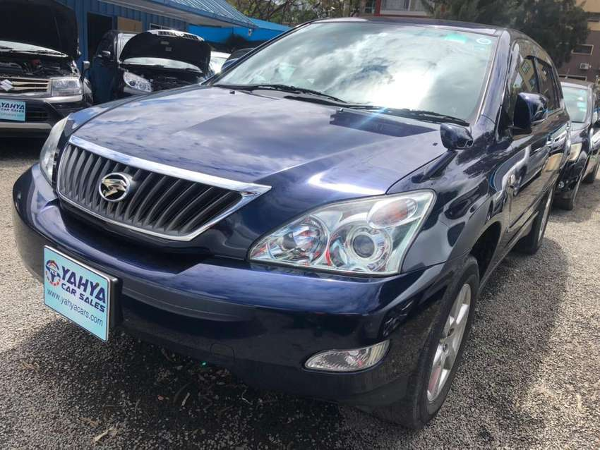 BLUE 2012 TOYOTA  HARRIER 0