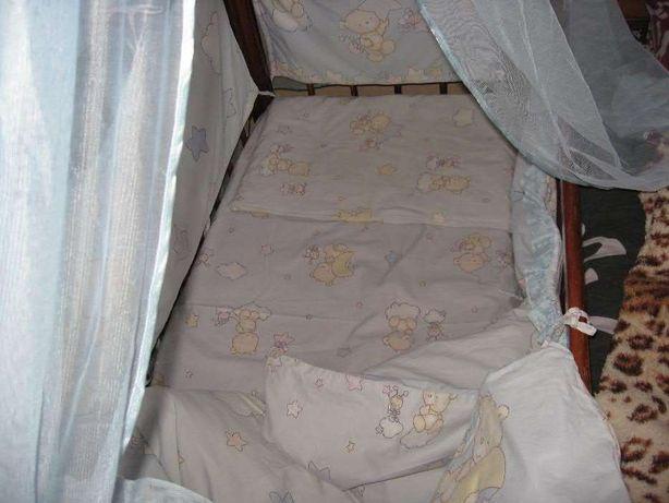 Комплект в детскую кроватку , держатель в подарок Ахтырка - изображение 3