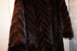 Роскошная длинная норковая шуба как новая размер S-M