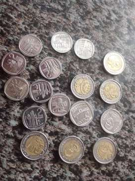 I want to sell my 5rand coins 2000,2008 and 1994