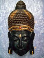 Большая маска Будды. дерево