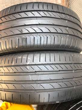 225/45/17 Continental Tyres