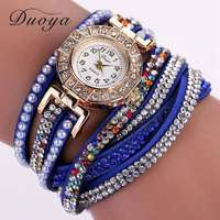 Image of Duoya fashion women Rhinestone