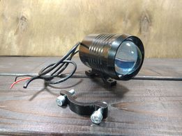 Мото фара, дополнительный свет - Rectangle 30W - гарантия, манибек