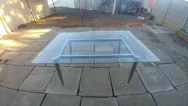 Glass Dinner Table