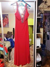 Продам красное вечернее платье