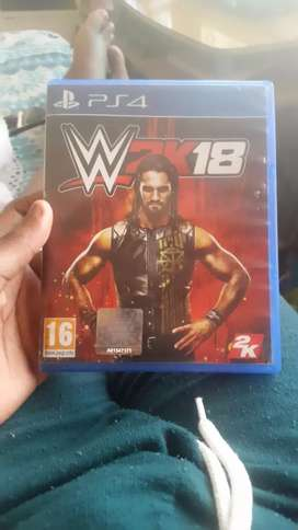 Wwe2k 18 ps4 games