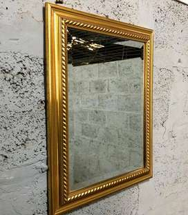 Bevelled Mirror In Beautiful Framed