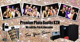 Premium Photo Booths, Photography and DJ and Sound Hire