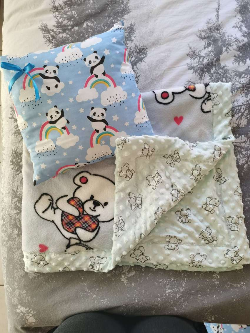 Baby blankets and pillows