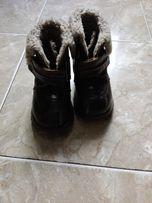 сапоги сапожки ботинки кожаные нат.мех
