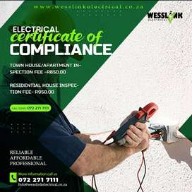 Electrical Compliance Certificate Roodepoort