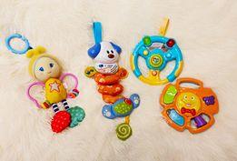 Развивающая игрушка, погремушка, подвеска, руль