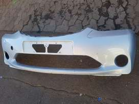 Toyota etios front bumper car available for sell