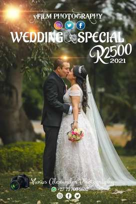 Wedding photographer from R2500