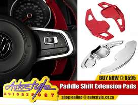 Pedal Shift Extension pads suitable to fit Vw Golf6,BMW F30,Toyota Cor