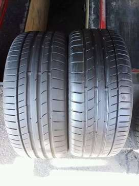 2 × 225 / 40 / 18 continental tyres for sale
