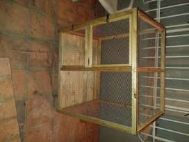 Beautiful home made cage for sale