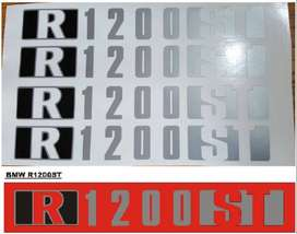 BMW R1200  ST decals stickers set