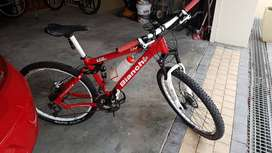 MTB 26e bike Bianchi full suspension