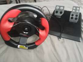 Logitech steering wheel for playstation and pc