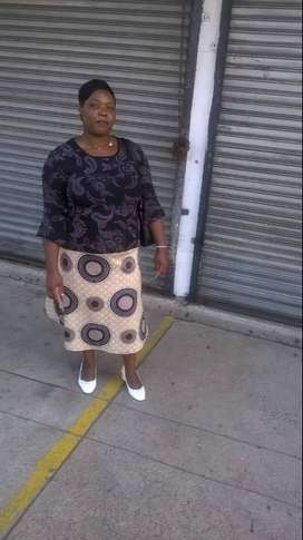 Zimbabwean nanny/maid/cleaner needs stay in or out work