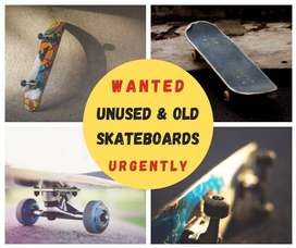 WANTED - OLD SKATEBOARDS