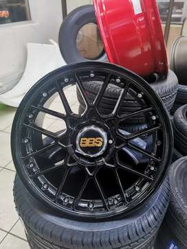 "17"" BBS RC2 Replica Rims in Full Black"