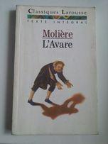 Książka francuskojęzyczna nauka francuskiego francuski Moliere L'Avare