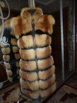 Меховая жилетка из лисы (производитель)