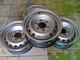 16Inch FORD RANGER Standard Steel Rims 6Holes A Set of Four On Sale