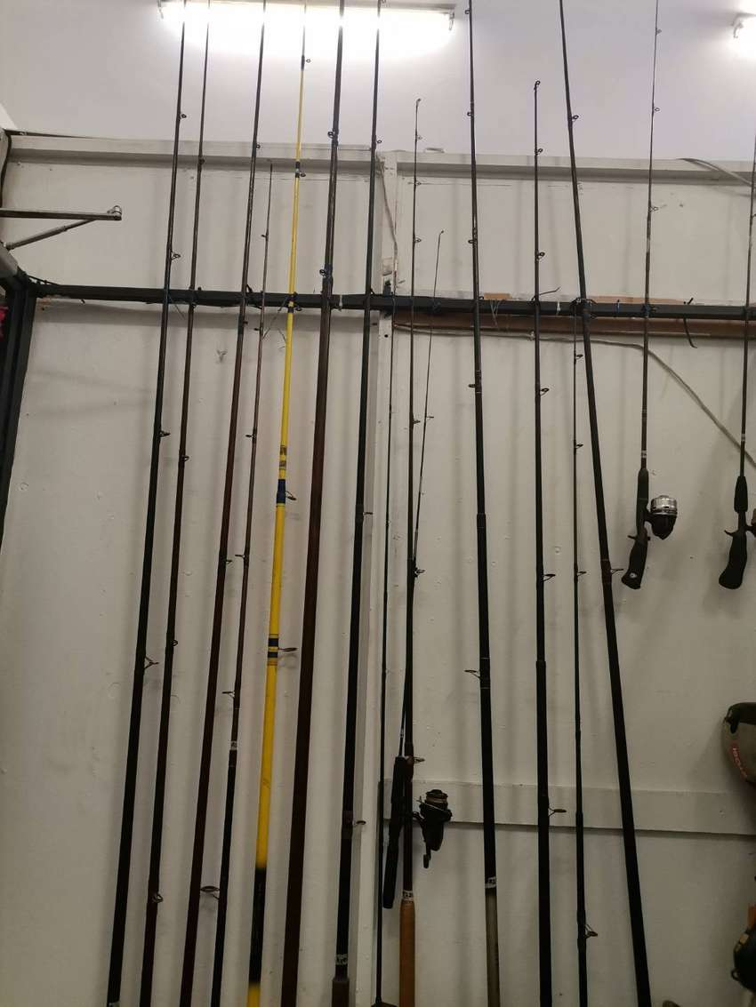 Rods different brands
