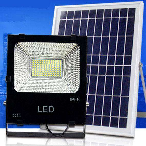 Solar floodlight 125W auto switch on and off during night and day 0