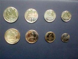 Монеты ссср набор 1981 ---88год-100гр