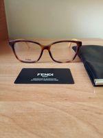 Fendi Louis Vuitton oryginalne nowe oprawki korekcyjne okulary damskie