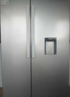 Defy side by side fridge/freezer for sale