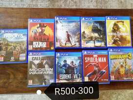 Huge variety of games for sale