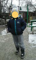 Куртка kiki&koko зимняя для мальчика р. 110