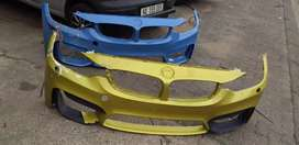 BMW m4 bumpers