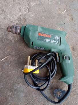 BOSCH DRILL MACHINE WORKING PERFECTLY