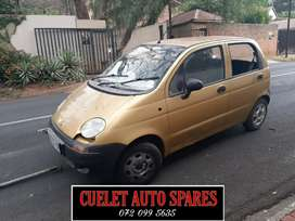 Daewoo Matiz Stripping For Parts And Accessories