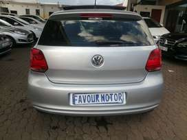 2013 Volkswagen Polo 6 1,4 engine capacity