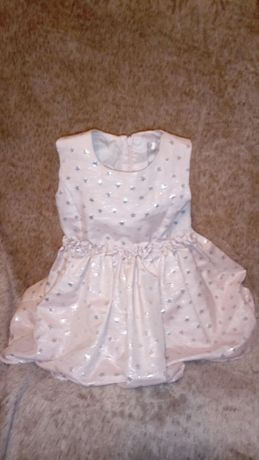 Śliczna sukienka 74 cm 6-9 m Oborniki - image 1