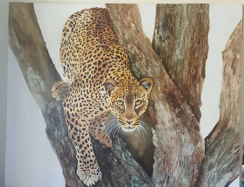 Leopard Painting 0