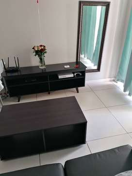 TV stand and coffee table for sale