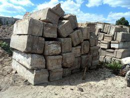 Блоки фундаментные б/у и новые. Плиты перекрытия, плиты дорожные.