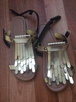 Оригинальные босоножки римлянки для девочки